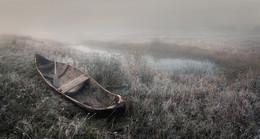 Одиноко старой лодке.. / Нижегородская область