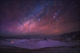 Mysterious Dreams / Озеро Тузколь, Центральный Тянь-Шань, Алматинская область пол часа до рассвета