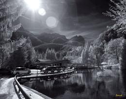 Рифма утреннего света / где-то в Альпах