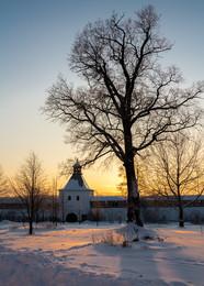 Навстречу Северной Авроры / Вологда, Спасо-Прилукский монастырь. Мороз за 30.