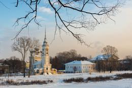 Вологодские кружева зимы / Вологда, Церковь Сретения Господня, что напротив Кремля