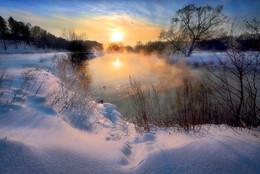 Очень морозный закат...2. / ....минус 22