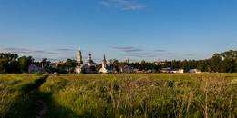 Тихий вечер / Суздаль, Ильинский луг на закате летнего дня