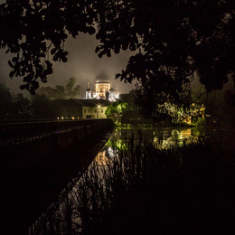 Ночь тумана / Введенская Островная Пустынь (Покров, Петушинский район, Владимирская область)