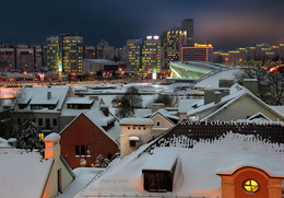 Старые крыши города... / ...на фоне XX-го века Минск с высоты ...воробьиного полета  http://sergey-nik-melnik.by/fotogalereya/ledyanoe-okno-minska  https://vk.com/album167716138_164653596