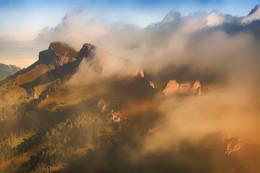 Про туман / М.Тхач утром в тумане