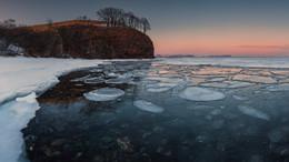 Вот ты какой... первый день весны! / Россия. Побережье Японского моря. Панорама из девяти вертикальных снимков. Canon 5D marklll, Samyang 24mm f/1.4