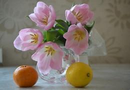 Тюльпанчики. / Аура праздника весны, любви.
