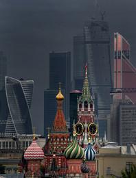 Москва не сразу строилась / Вид с Хитровки.