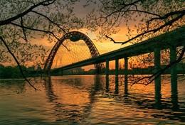 Живописный мост / Проспект маршала Жукова г.Москва
