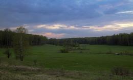 Майские закаты. / Ясная поляна.