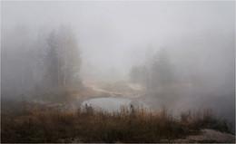 / В тумане