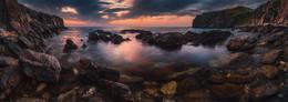 Безмятежность утра... / Россия. Побережье Японского моря.