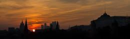 Red Alert / Тревожный закат над Москвой
