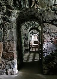 Каменные переходы Свеаборга... / Крепость в Финляндии