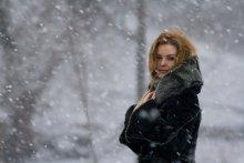 Снежный портрет / 24 марта