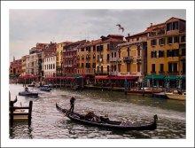 Вся Венеция / Вид с моста Риальто.