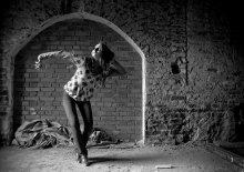 Последний танец. / Фотомодель Татьяна Кривицкая.