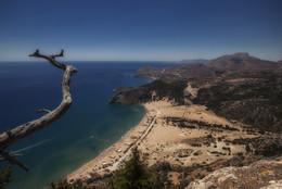Вид с горы / о.Родос