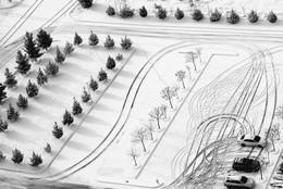 Зимняя геометрия / г. Ашхабад