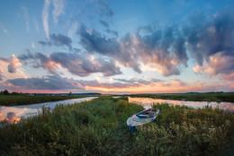 Рассвет на Волге / Пено, Тверская область
