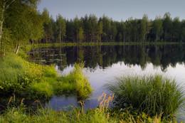 Вечер на озере / ***