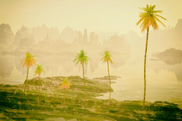 В неизвестных теплых краях... / где пальмы растут