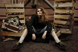 Homeless Couture / MODEL: Юлия Мыслик MU: Татьяна Паречина