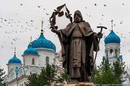 Ефрем Новоторжский / Памятник основателю Торжокского Борисоглебского монастыря