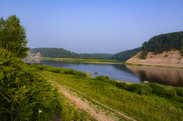 одни на планете / лето, река Сухона, Вологодская обл.