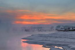 Вечер в деревеньке... / Иркутская область Казачинско-Ленский район вечерний морозец - 33