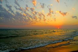 Черноморский закат / Черное море