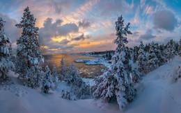 Зимние облака / Карелия. Ладожское озеро. Январь, 2016.  Приглашаю в свой авторский фототур по зимнему Ладожскому озеру.