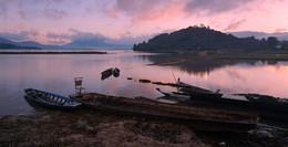 Раннее утро на оз.Лак... / Вьетнам озеро Лак провинция Даклак