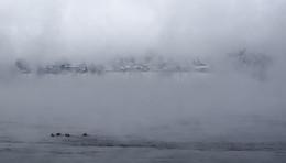 Утро туманное / Морозным утром на Ангаре