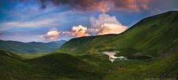 Сумерки над Догяской / Велопоход Карпаты-Камянец 2015