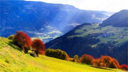 Италия, по пути к снежным Альпам. / ***