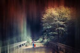 Юна в лесу / Kirishima.Japan