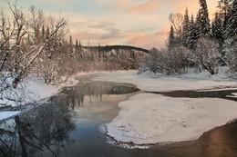 утренние зарисовки декабря... / Иркутская область Казачинско-Ленский район.