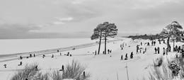 Белое море зимой / Белое море зимой