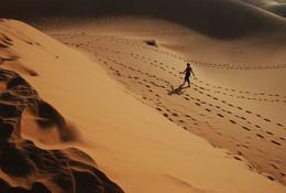 Следы / Вьетнам, дюны.