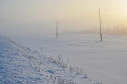 Морозное утро... / ... в феврале...