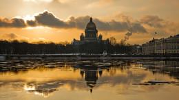 Весна... Нева / Санкт-петербург