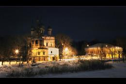 Вечерняя зарисовка. / Вологда. Вид от кремля.