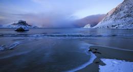 Пляж по Норвежски..... / Лофотены