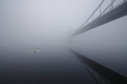 путь / такой вот туман над городом на 8 марта с праздником весны!