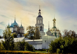 Толгский монастырь в Ярославле / Толгский монастырь в Ярославле
