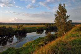 Подмосковные вечера / Москва-река в районе Звенигорода