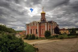 Иоано-Богословский собор / лето, Рязанская обл., Свято-Иоанно-Богословский мужской монастырь.