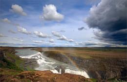 Водопад Гюдльфосс. Исландия / ***